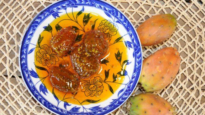 Γλυκό κουταλιού φραγκόσυκο - prickly pear Preserve