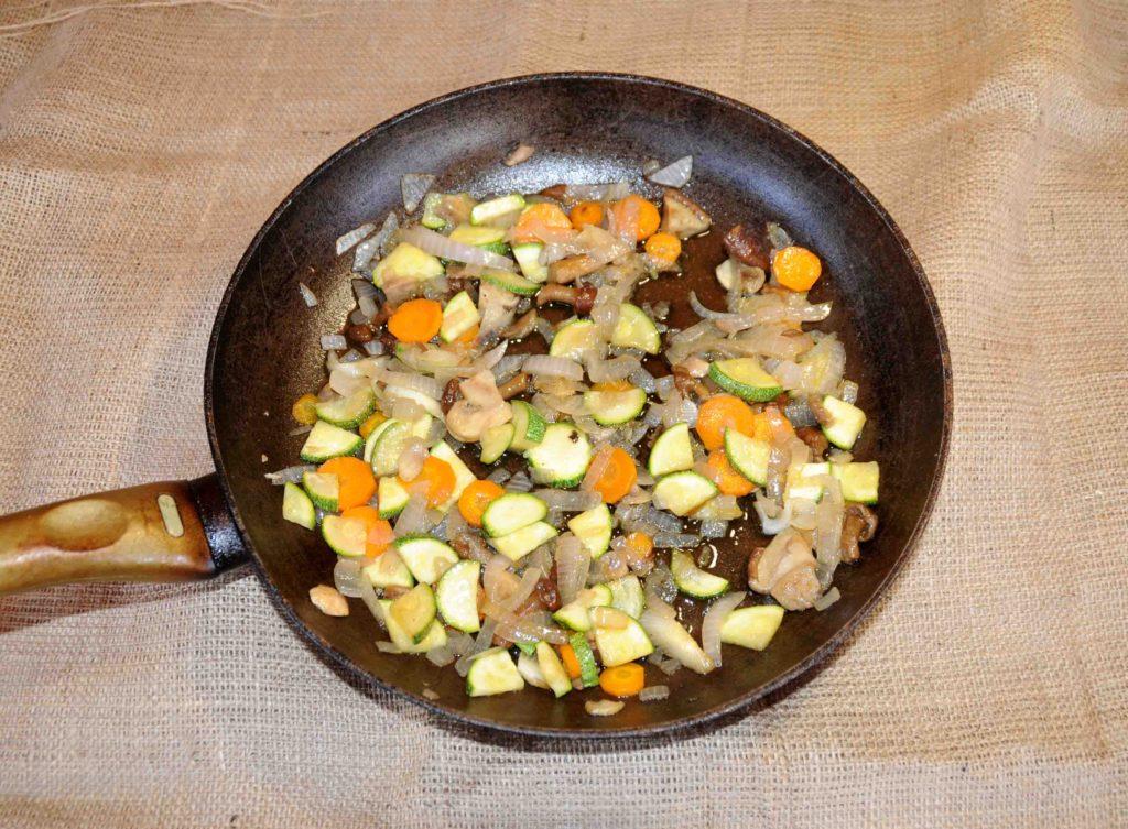 Σοταρισμένα λαχανικά - Grilled vegetables