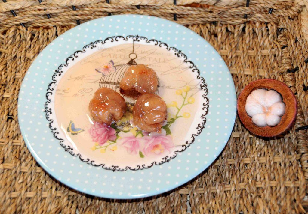 Γλυκό κουταλιού μάγκοστιν - Preserve mangosteen