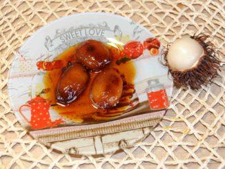 Γλυκό κουταλιού ραμπουταν Rambutan - Preserve Rambutan