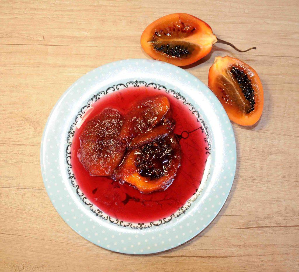 Γλυκό κουταλιού ταμαρίλο - Tamarillo Preserve