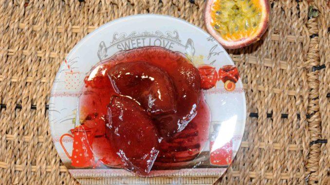 Γλυκό με φρούτα του πάθους Granadilla (Passiflora edulis) - Preserve with passion fruit Granadilla (Passiflora edulis)