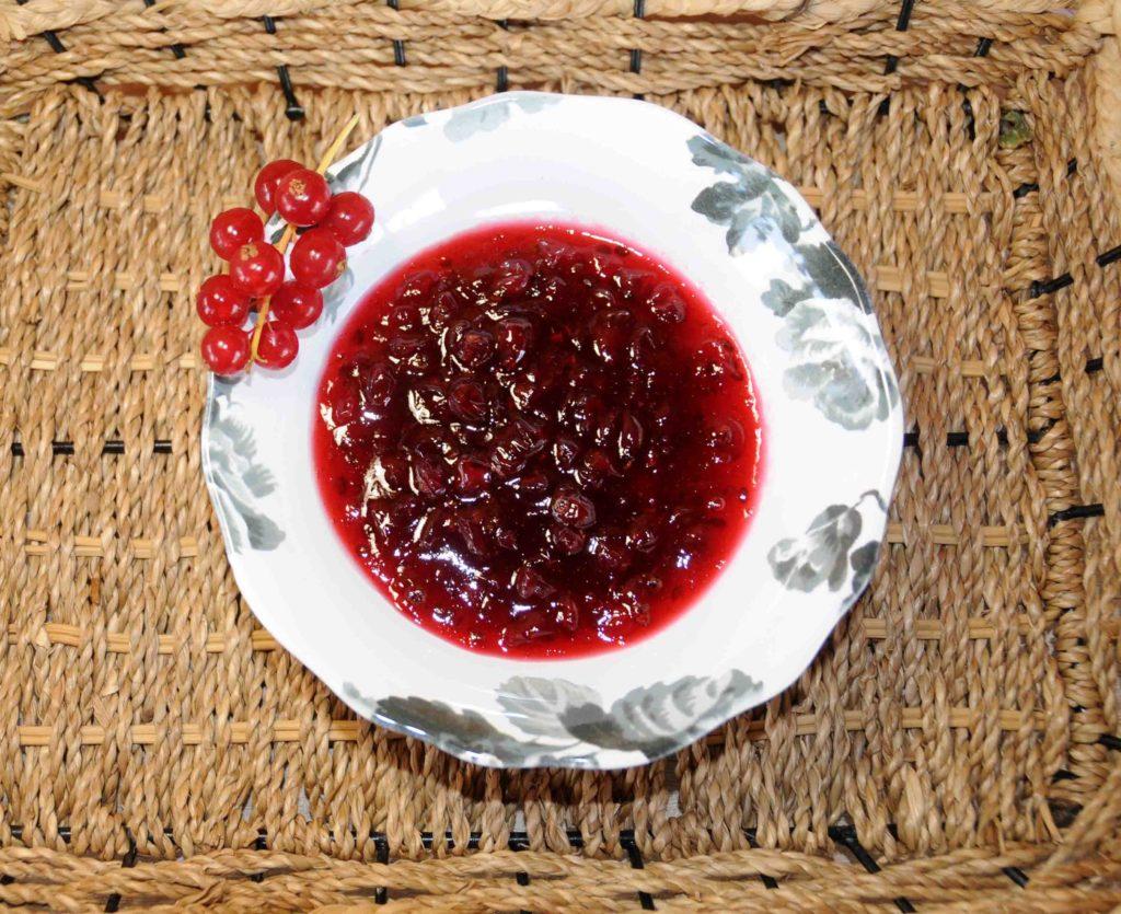 Γλυκό φραγκοστάφυλα - Red Pan-American Gooseberry Preserve