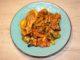 Κοτόπουλο στο φούρνο με λαχανικά και σάλτσα μουστάρδας - Chicken in the oven with vegetables and mustard sauce