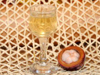 Λικέρ μάγκοστιν - Mangosteen liqueur