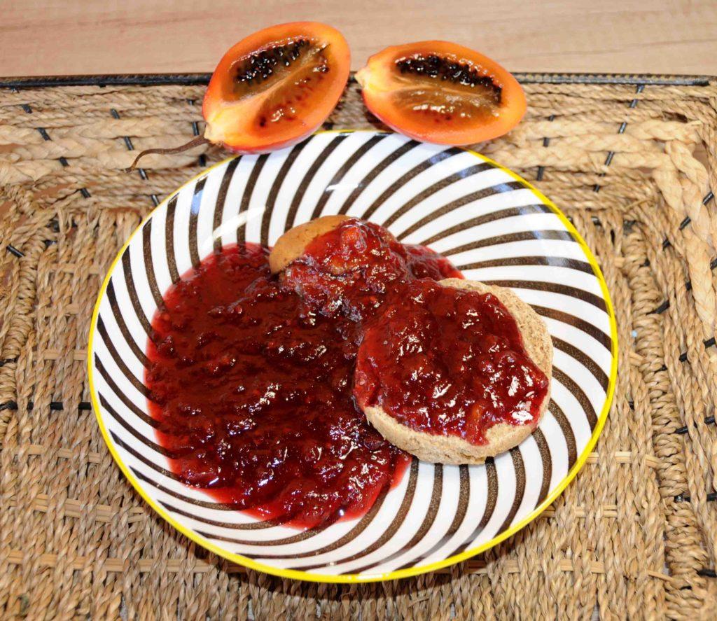 Μαρμελάδα ταμαρίλο - Tamarillo jam
