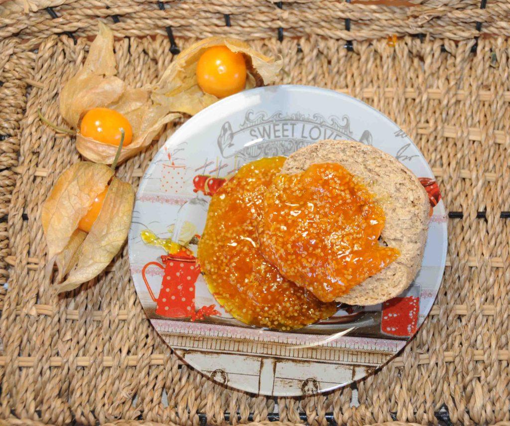 Μαρμελάδα φυσαλίδες Cape gooseberry - physalis cape gooseberry Jam