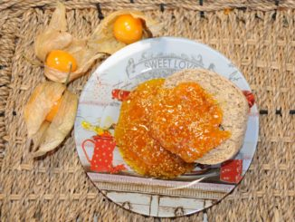 Μαρμελάδα φυσαλίδες Cape gooseberry - physalis cape gooseberry Jam
