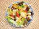 Σαλάτα με μήλο και γραβιέρα - Salad with apple and gruyere