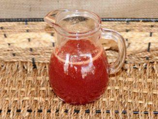 Σιρόπι από χυμό βανίλιας