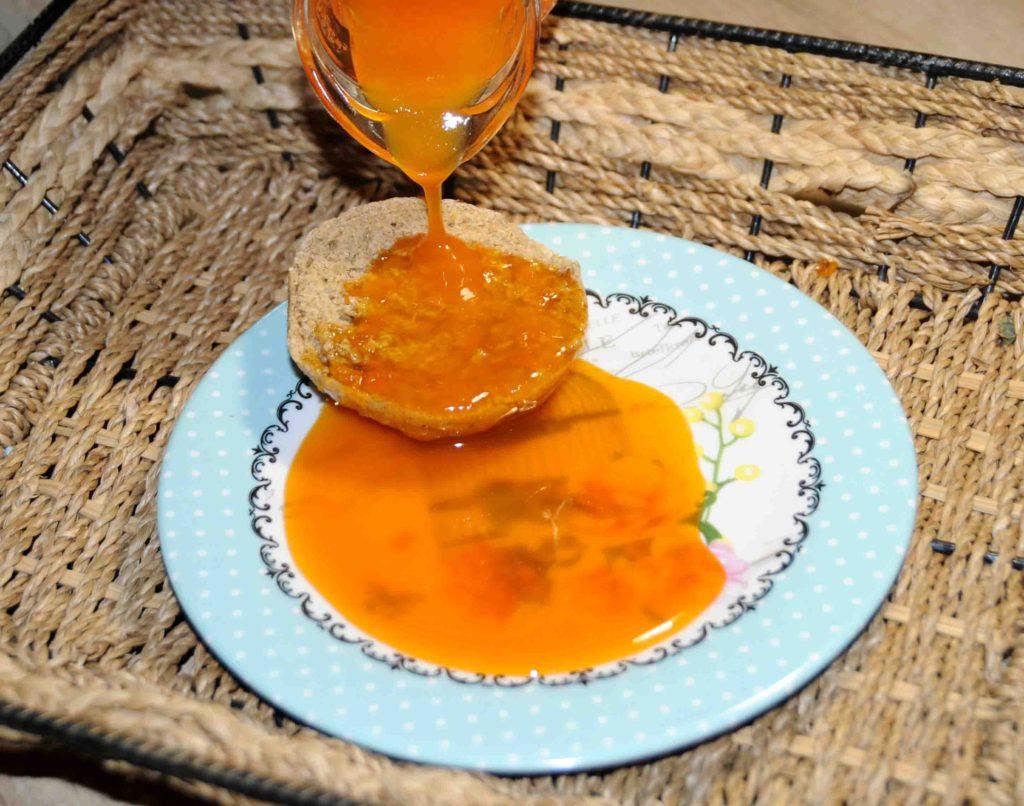 Σιρόπι κολοκύθας - Pumpkin syrup