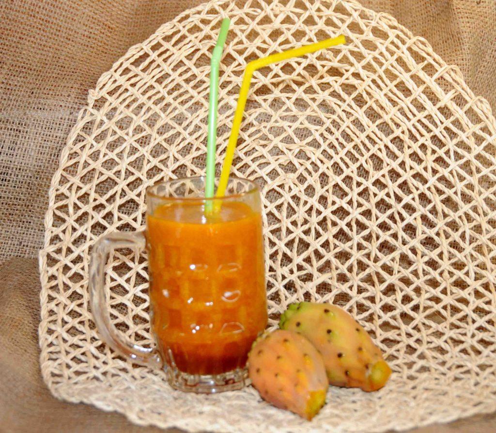 Χυμός φραγκόσυκου - Prickly pear juice