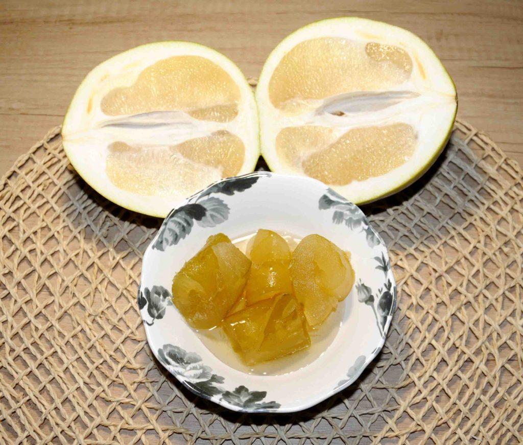 Γλυκό κουταλιού από φλούδα φράπας - pomelo shaddock peel Preserve