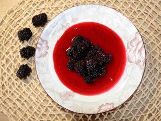 Γλυκό κουταλιού μαύρο βατόμουρο - Black raspberry Preserve