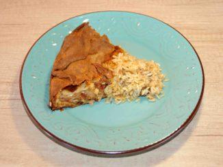Κοτόπιτα ανοιχτή με ρύζι - Chicken pie with rice