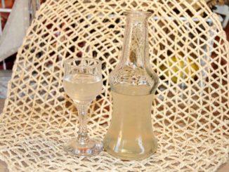 Λικέρ κίτρινη κολοκύθα - Yellow pumpkin liqueur
