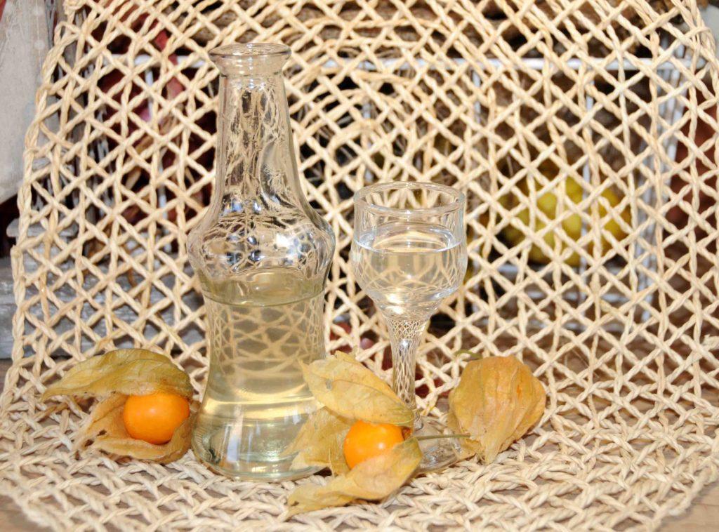 Λικέρ φυσαλίδα - physalis Cape gooseberry liqueur