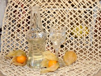 Λικέρ φυσαλίδα - physalis Cape gooseberry liqueur
