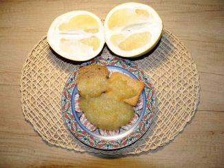 Μαρμελάδα φράπα ή πομέλο - pomelo shaddock Jam