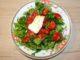 Σαλάτα μαρούλι ρόκα ντοματίνια και φέτα - Rocket salad lettuce tomatoes and cheese