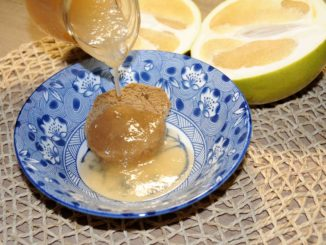 Σιρόπι φράπα ή Πομέλο - pomelo shaddock syrup