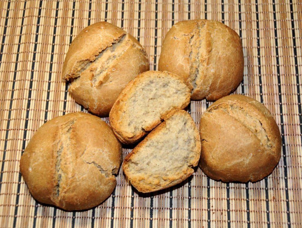 Ψωμί με αλεύρι βρώμης - Bread with oat flour