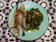 Σαφρίδια ψητά με άγρια - Trachurus mediterraneus with wild greens