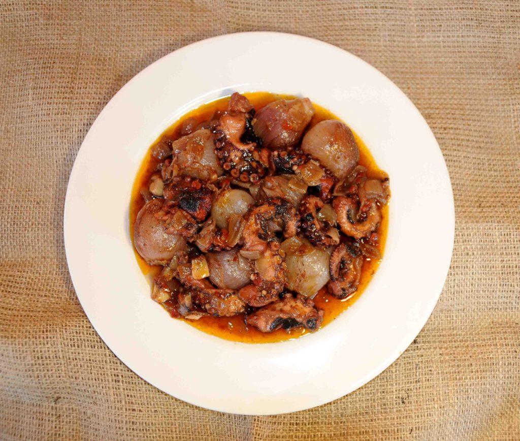 Χταπόδι στιφάδο - Octopus stew