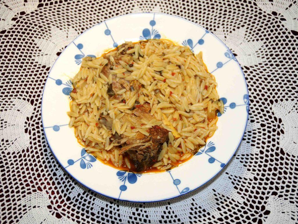 Αρνάκι γιουβέτσι - Juvetsi lamb