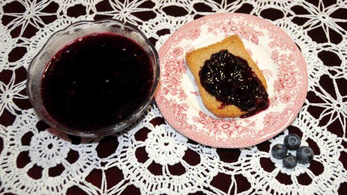 Μαρμελάδα Μπλούμπερις - Blueberry jam