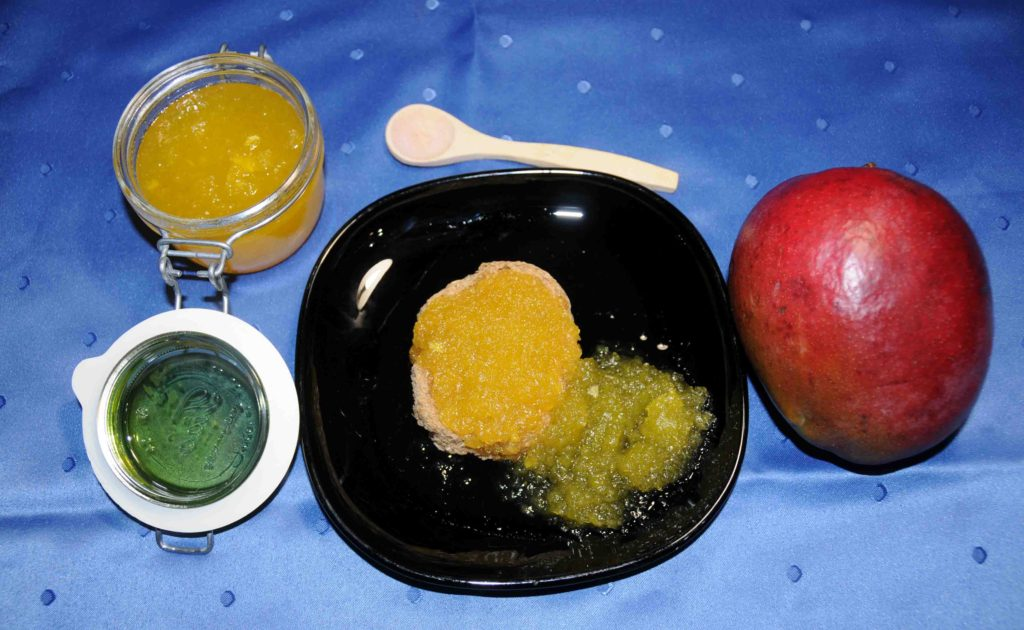 Μαρμελάδα μάνγκο - Mango jam