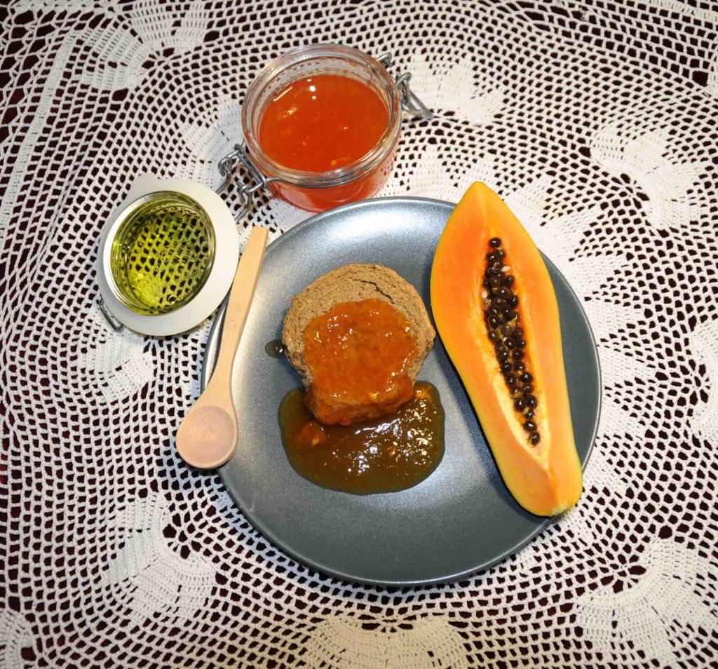 Μαρμελάδα παπάγια - Papaya jam
