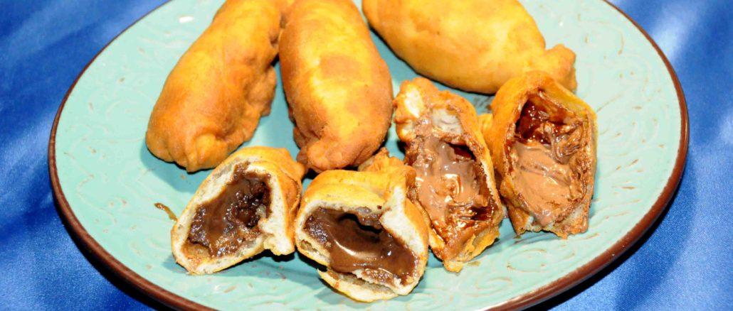 Πιροσκί με μερέντα - piroshki with merenta