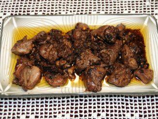 Τηγανιά με συκώτι αρνίσιο λεμονάτη - Frying pan liver lamb lemonade
