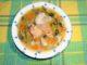 Ψαρόσουπα με σολομό - Fish soup with salmon