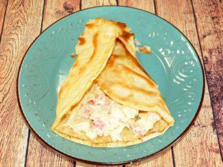 Αραβική πίτα με κοτόπουλο