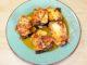 Ρολάκια μελιτζάνας με τυριά στον φούρνο
