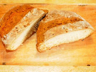 Ψωμί με μαγειρική σόδα και γιαούρτι