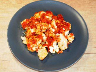 κοτομπουκιές στον φούρνο με τυριά
