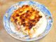 Πένες με τυριά και μπέικον στον φούρνο