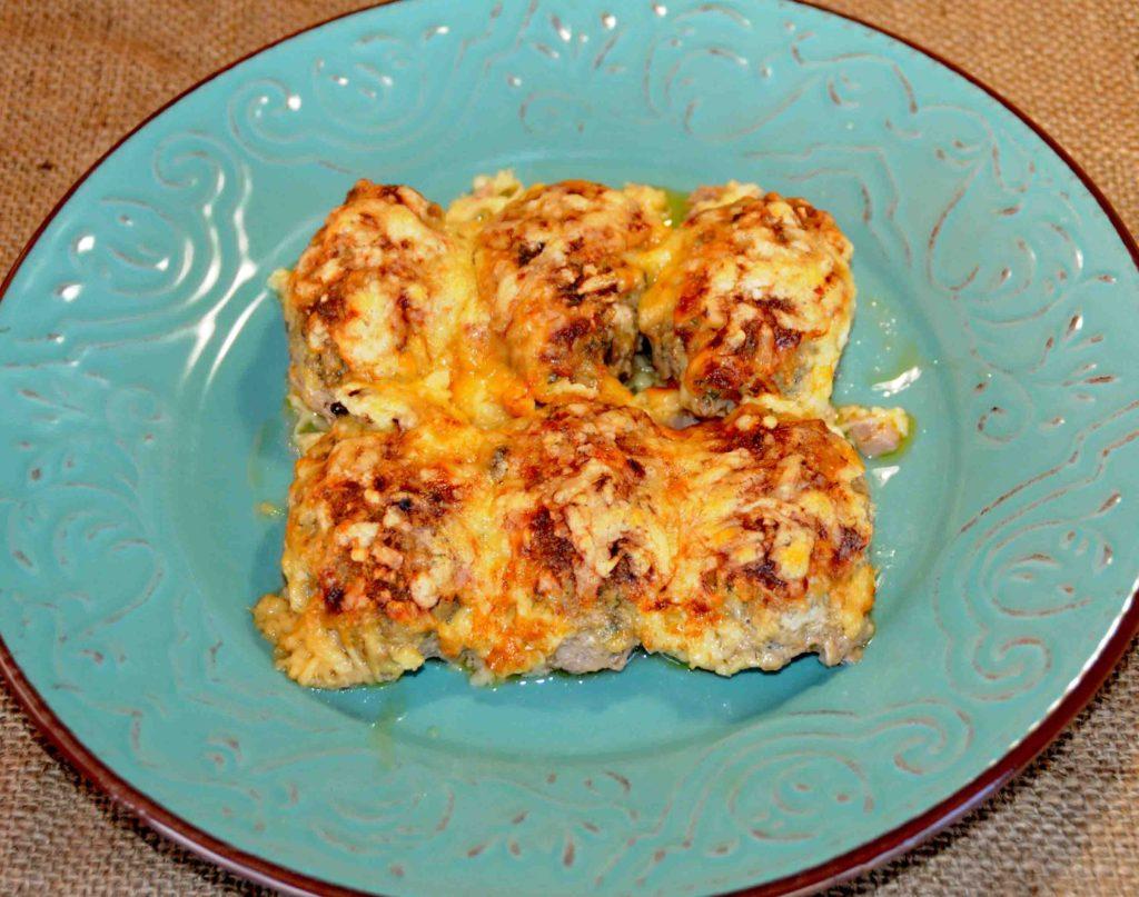 Λαχανομπιφτέκια με τυρί που λιώνει στο φούρνο