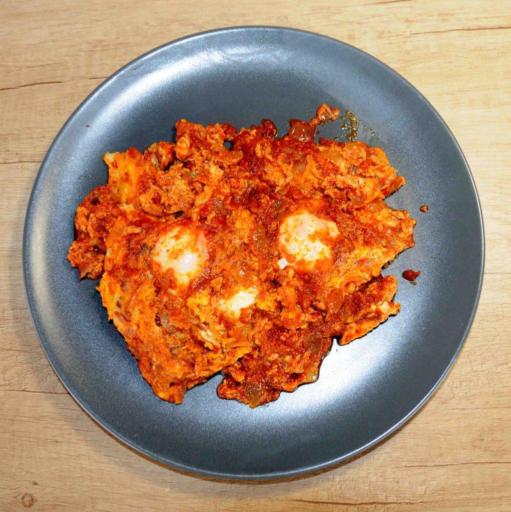 Αυγά μπουρδέτο Κερκυραϊκή συνταγή