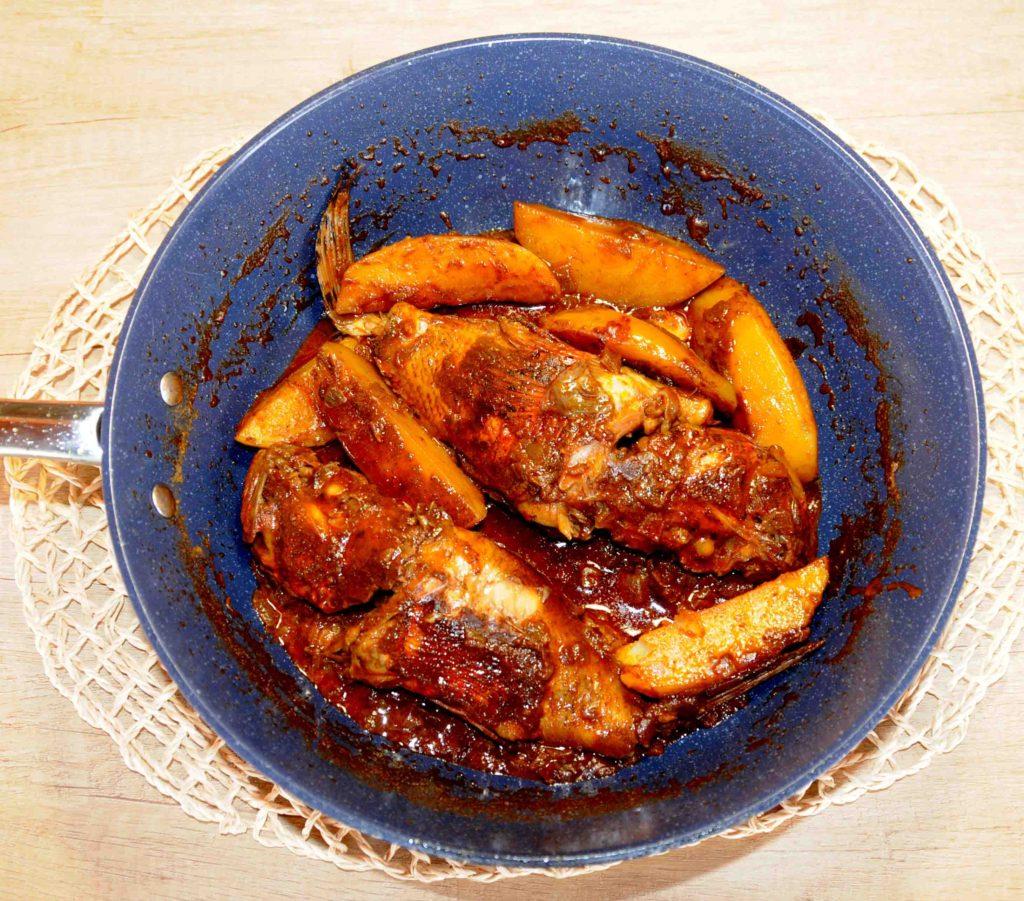Κερκυραϊκή συνταγή Μπουρδέτο - Ψάρι σκορπιός