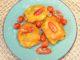 Μπακαλιάρος τηγανητός με χυλό μουστάρδας