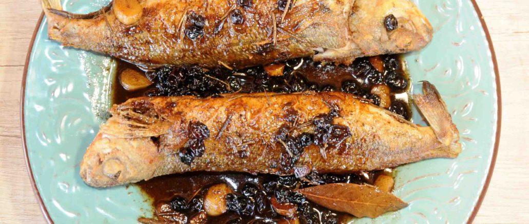 Ψάρια σαβόρο - παραδοσιακή Κερκυραϊκή συνταγή ψάρι γόπα