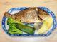 Τσιπούρες στον φούρνο με σαλάτα βραστών λαχανικών